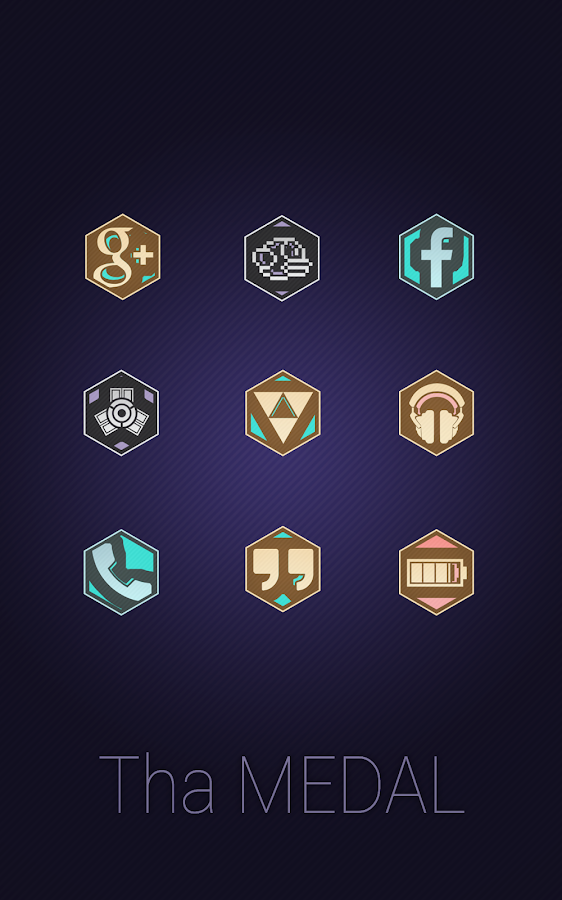 Tha Medal - Icon Pack Screenshot 3