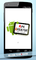 Screenshot of ApkCreator - Web2App Lite