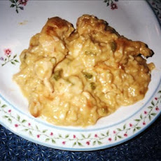 Creamy Chicken in Rice