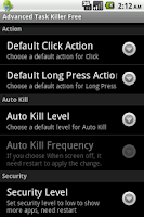 Screenshot of Advanced Task Killer Pro