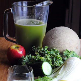 Fennel and Cantaloupe Juice