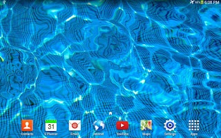Screenshot of Water Drop Live Wallpaper