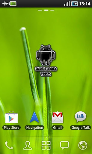 Blackdroid Team Sticker Widget