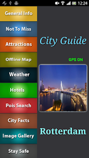 Rotterdam Offline Guide - screenshot