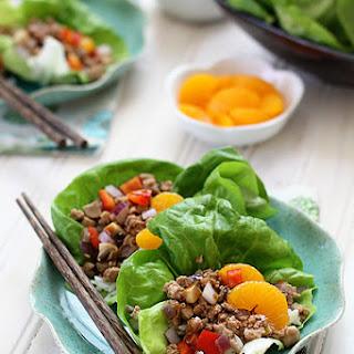 Ground Chicken Lettuce Wraps Recipes