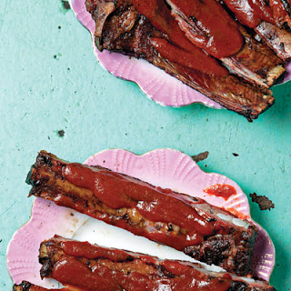 Kansas City-Style Spareribs with Barbecue Sauce