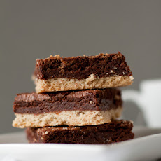 Espresso-Shortbread Brownie Bars