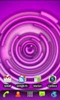 Screenshot of RLW Theme Purple Neon