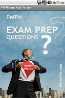 Screenshot of PMP Exam Coach - 400 Questions
