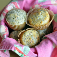 Lemon Poppy Seed Yogurt Muffins