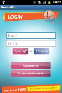 Simuladão Furb - screenshot