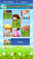 Screenshot of Cartoon Jigsaw drag puzzle