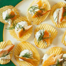 Smoked Trout Chips