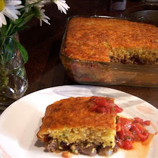 Tamale Pie With Cheddar & Cornmeal Crust