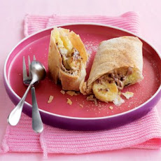 Mars Bar and banana pastries