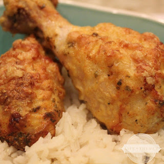 Cheesy Chicken Drumsticks