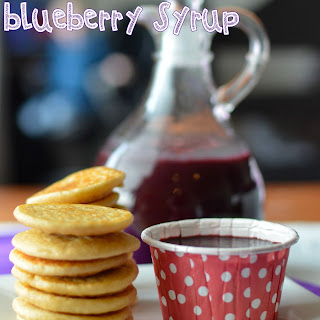 Simple Organic Blueberry Syrup