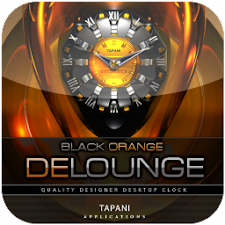 Luxus Clock Widget DE LOUNGE
