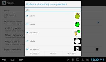Screenshot of ICT-AAC Komunikator 2.0
