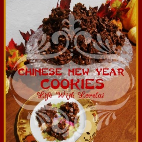 Chinese New Year Cookies or Haystacks