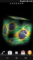 Screenshot of 3D Brazil Live Wallpaper