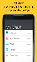 Screenshot of Norton Identity Safe password