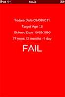 Screenshot of Age Verify Free