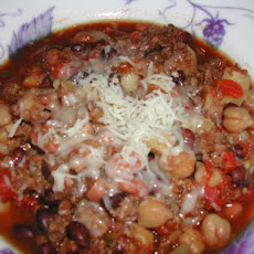 Vegetarian Chili for the Crock Pot