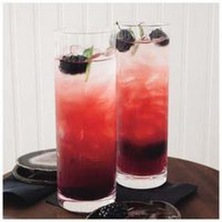 Blackberry-Sage Fizzes