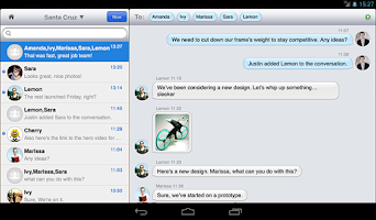 Screenshot of SteedOS Chat - Business WeChat