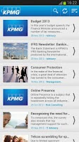 Screenshot of KPMG Malta