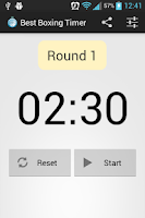 Screenshot of Best Boxing Timer