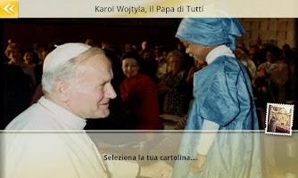 Screenshot of Papa Giovanni Paolo II