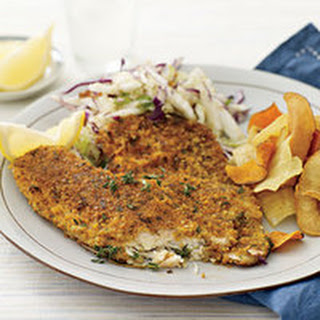 Cracker-and-Parmesan-Crusted Fish Fillets