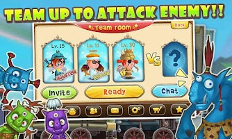 Screenshot of Catapult Saga