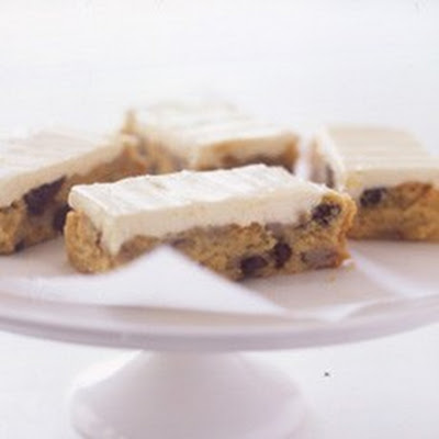 Banana and Chocolate Chip Slice