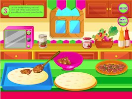 Screenshot of Mexican Pizza Cooking