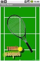 Screenshot of Tennis racket