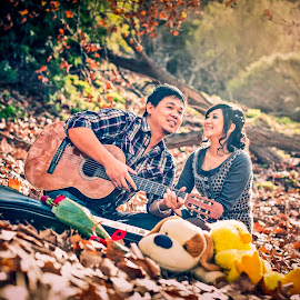 Melody of Love by Irwan Budiarto - People Couples ( love, pre wedding, couple,  )