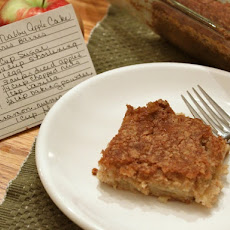 Gluten-Free Tuesday: Nubby Apple Cake