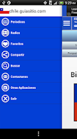 Screenshot of Chile guide News Papers Radios