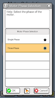 Screenshot of Electrical Motor Helper