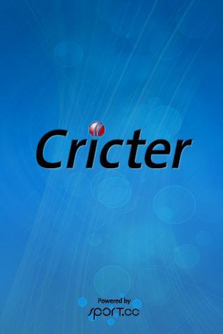 Cricter: Cricket Live Scores