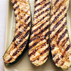 Grilled Zucchini with Garlic and Lemon Butter Baste