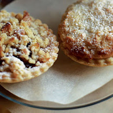 Mince Pies With A Crumble Topping