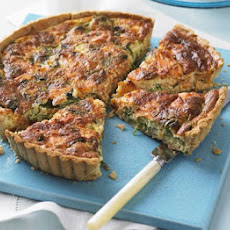 Salmon & Watercress Quiche
