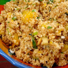 Orange-Pineapple Couscous