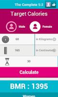 Screenshot of The Complete 5:2 Diet
