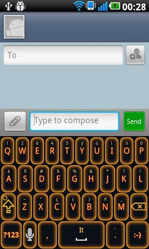 Glow Legacy Keyboard Evil Pro
