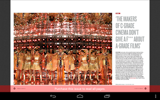Screenshot of Tehelka Magazine